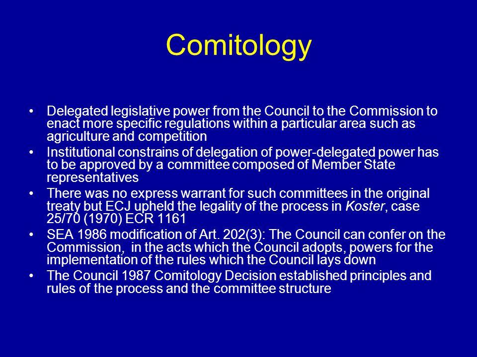 Comitology
