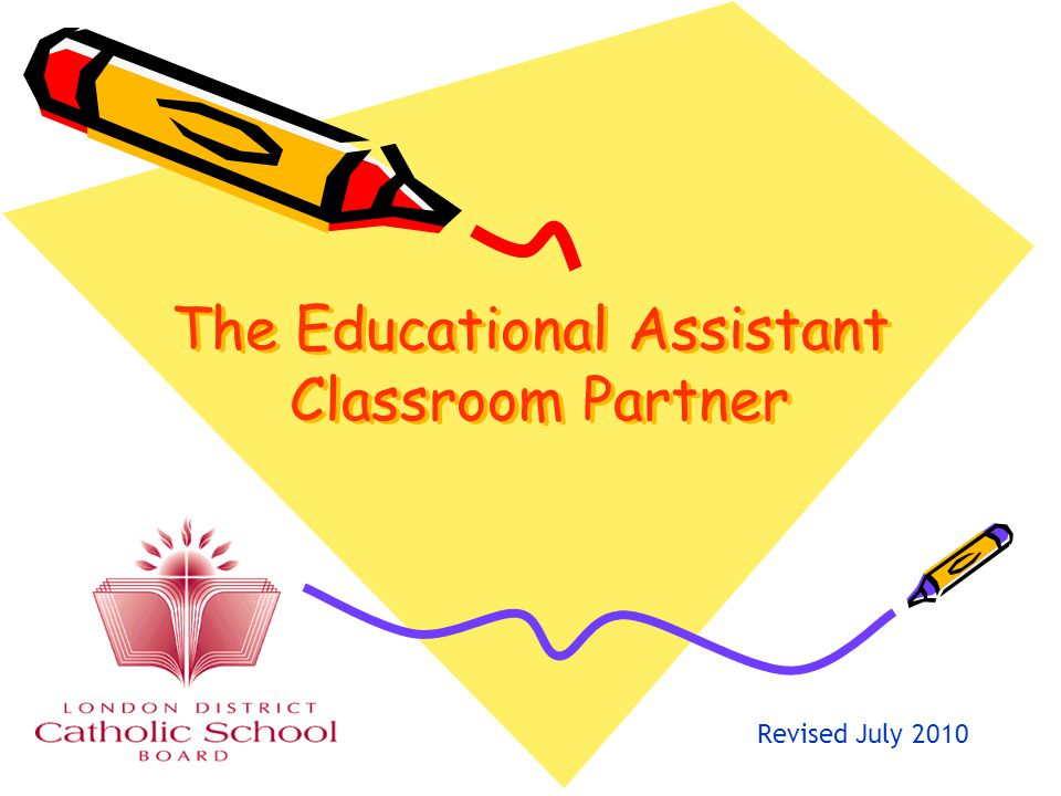 The Educational Assistant Classroom Partner