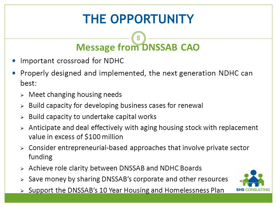 Message from DNSSAB CAO