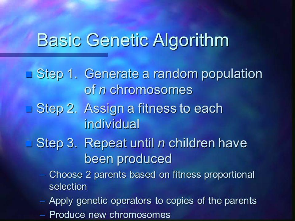 Basic Genetic Algorithm