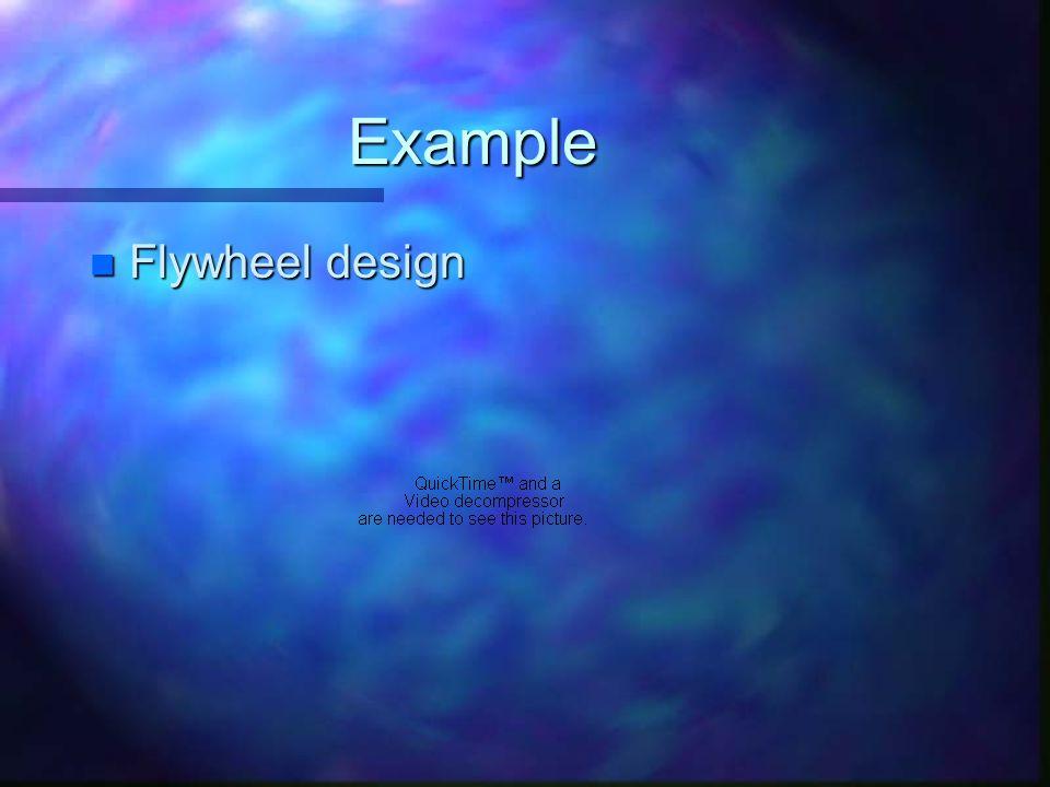 Example Flywheel design