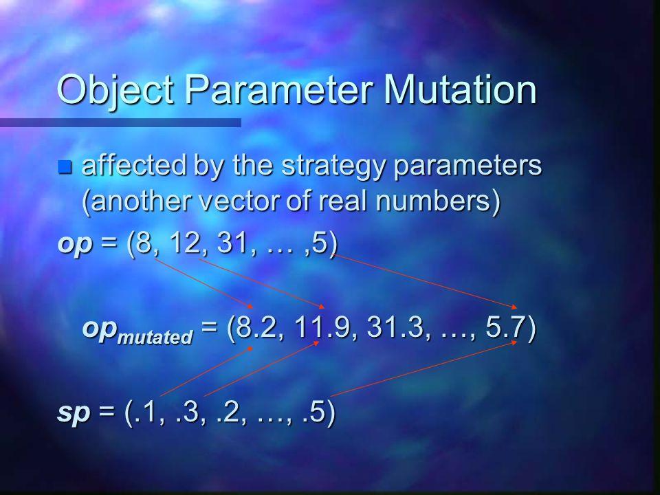 Object Parameter Mutation