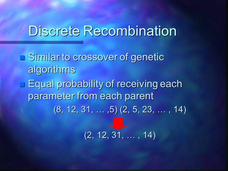 Discrete Recombination