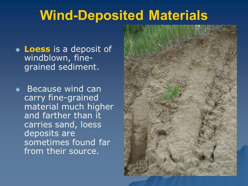 Wind-Deposited Materials