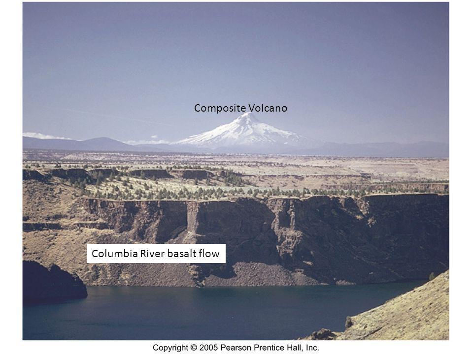 Composite Volcano Columbia River basalt flow