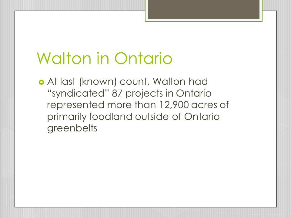 Walton in Ontario