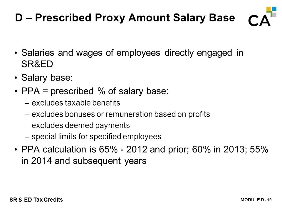 D – Overall Cap on Prescribed Proxy Amount