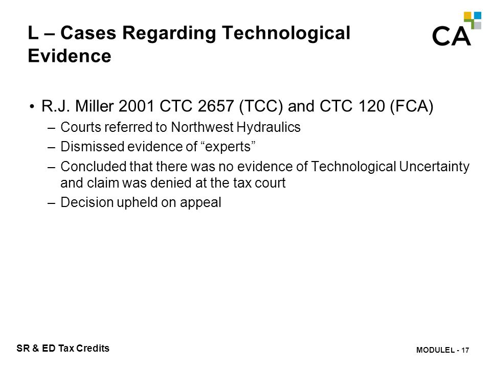 L – Cases Regarding Technological Evidence