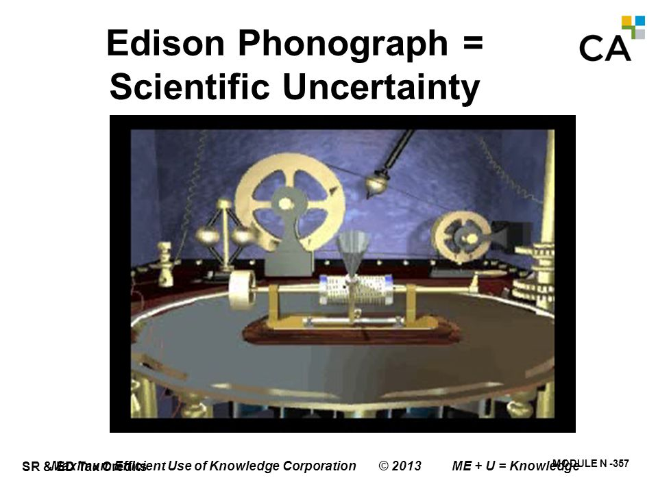 Edison Light Bulb = System Uncertainty