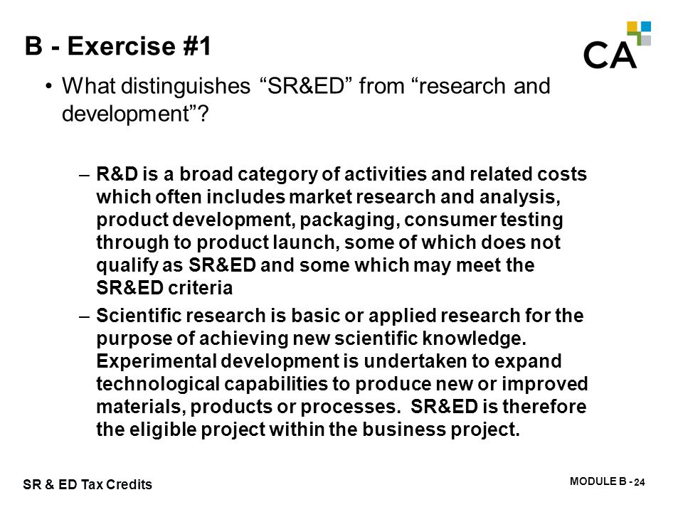 B - Exercise #2 What is a technological obstacle and why is it important in determining eligibility