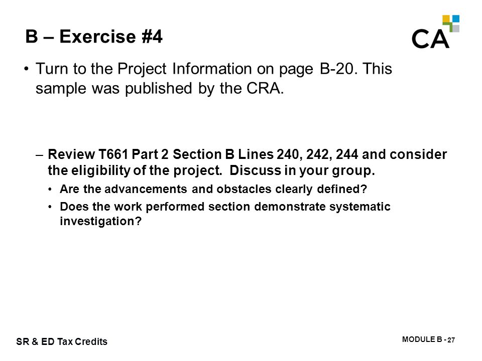 New project format & related example – Nov. 10, 2008 -