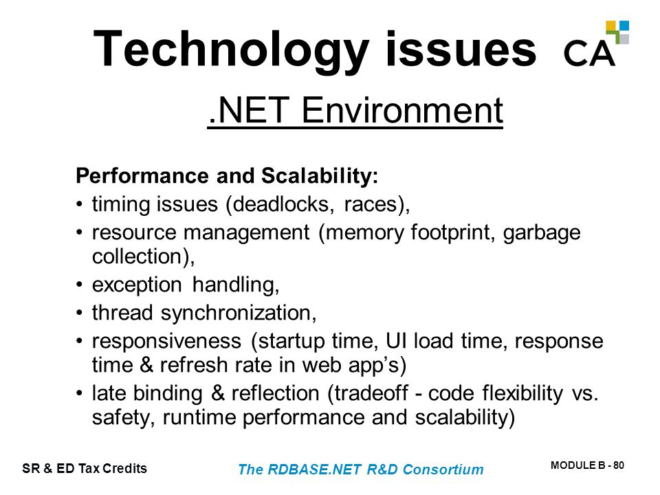 Concurrency – Multi-Core Processing The RDBASE.NET R&D Consortium