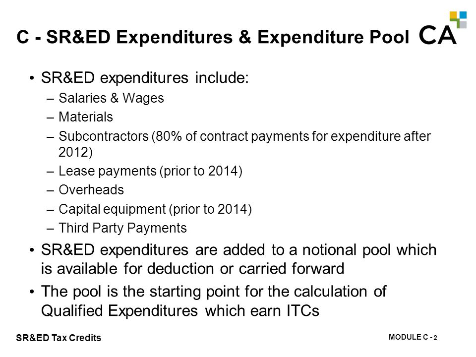 C - Foreign Expenditures