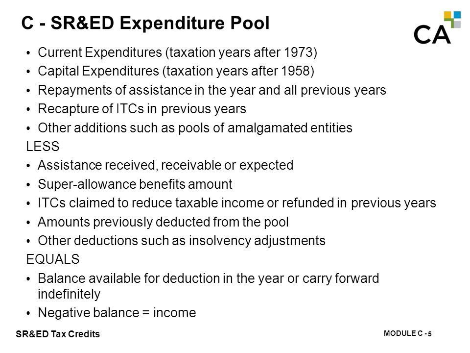 C – Section B - T661 Sample Calculation of Allowable Expenditures Pool