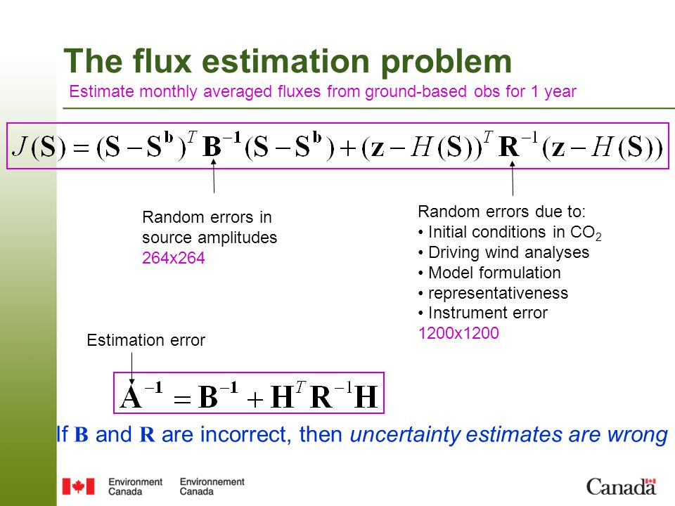 The flux estimation problem