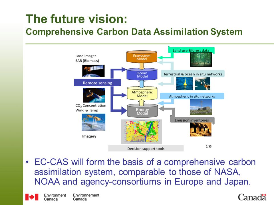 The future vision: Comprehensive Carbon Data Assimilation System