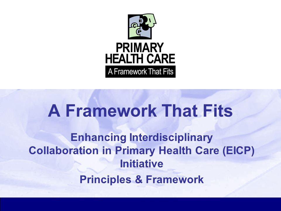 Principles & Framework