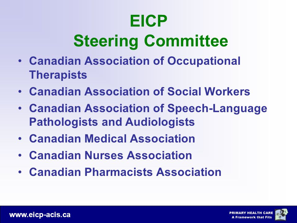 EICP Steering Committee