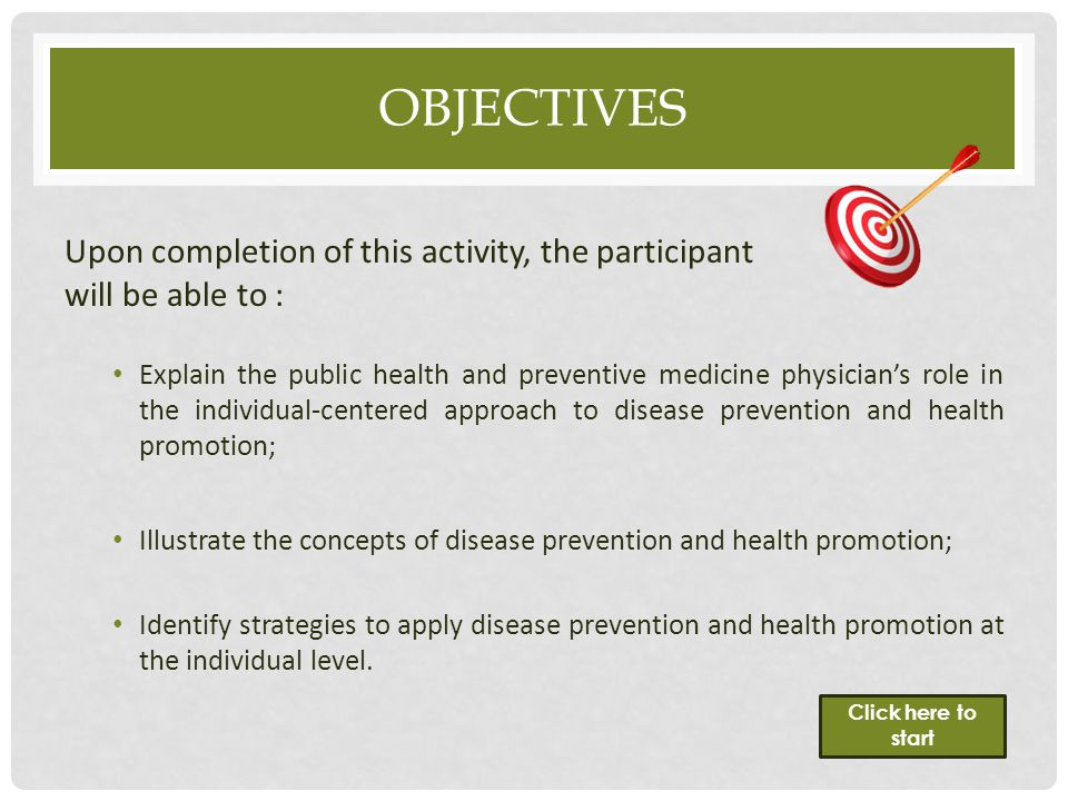 Objectives Upon completion of this activity, the participant will be able to :