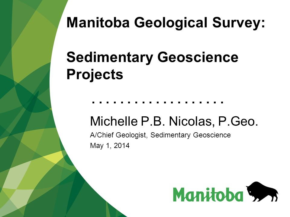 Manitoba Geological Survey: Sedimentary Geoscience Projects