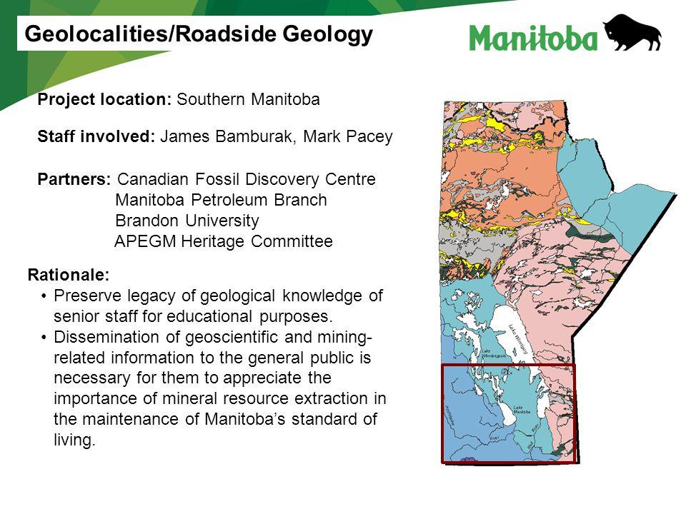 Geolocalities/Roadside Geology