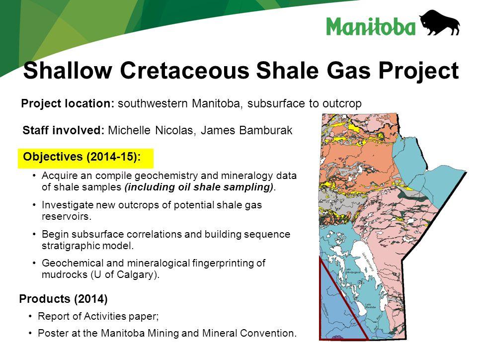 Shallow Cretaceous Shale Gas Project