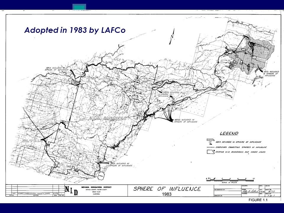 Adopted in 1983 by LAFCo