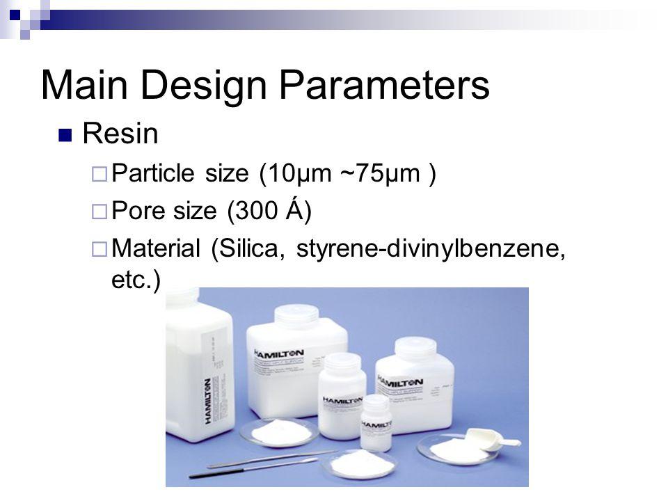 Main Design Parameters