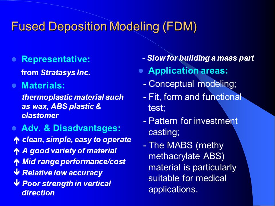 Fused Deposition Modeling Aerospace : What is rapid prototyping ppt download