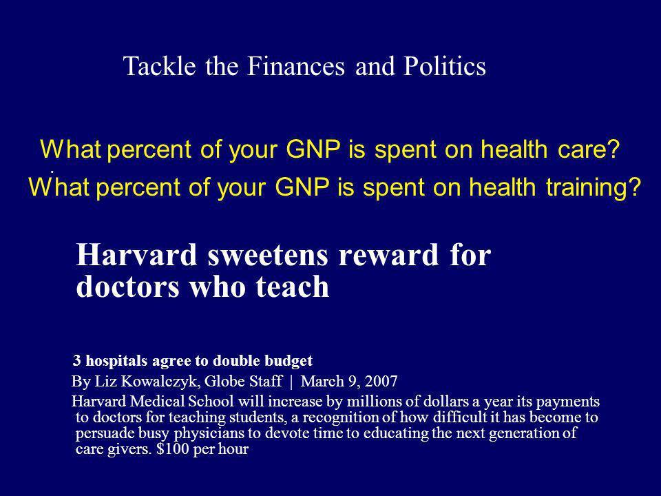 Harvard sweetens reward for doctors who teach