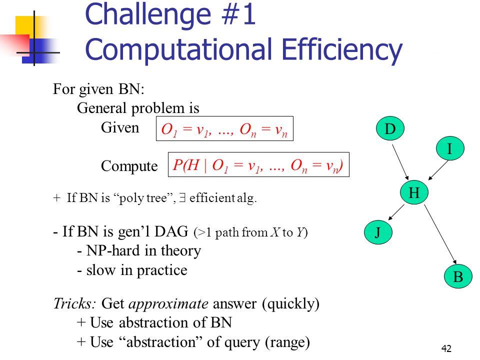 Challenge #1 Computational Efficiency