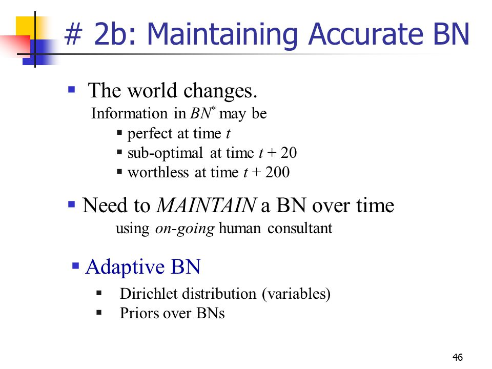 # 2b: Maintaining Accurate BN