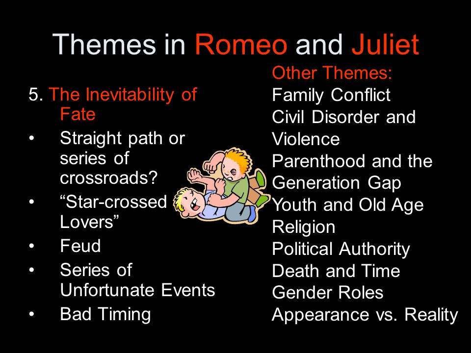 Themes explored in romeo and juliet