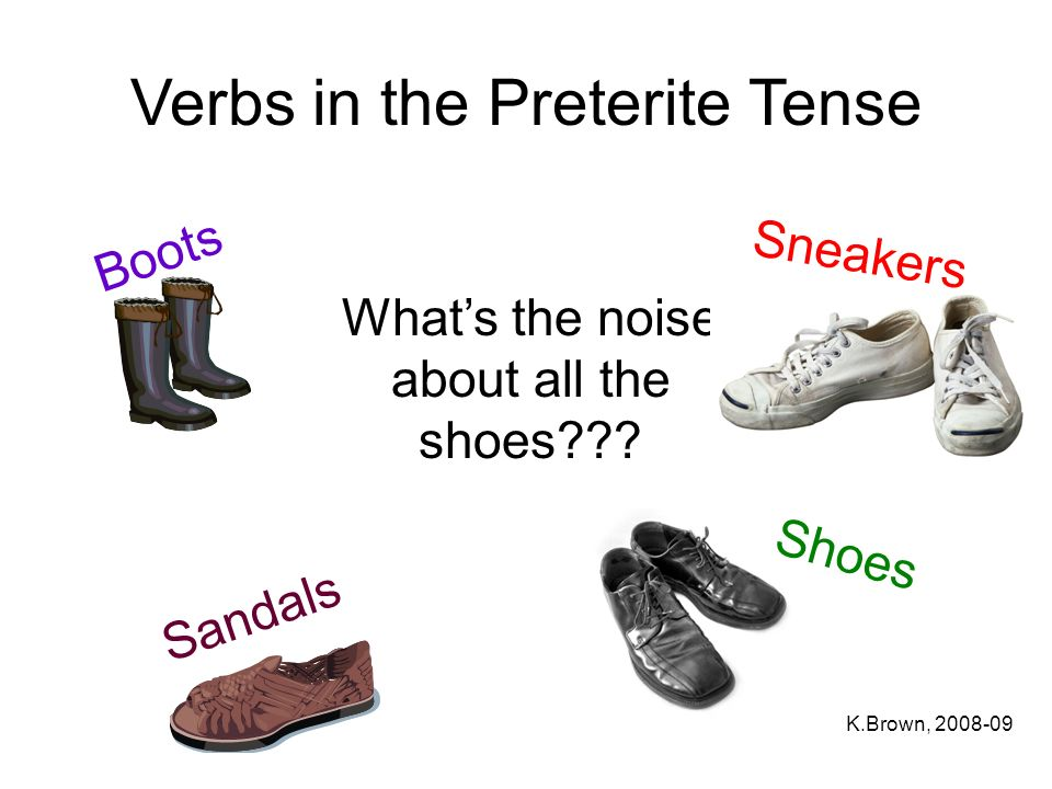 Verbs in the Preterite Tense