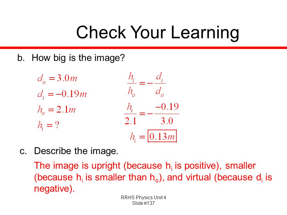 Check Your Learning How big is the image Describe the image.
