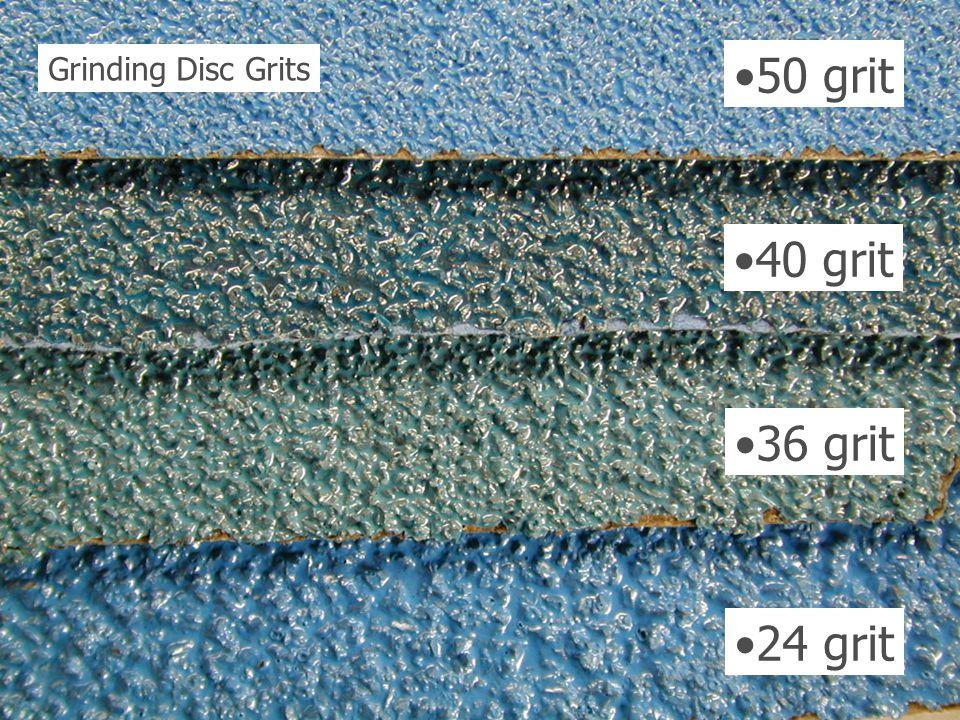 Grinding Disc Grits 50 grit 40 grit 36 grit 24 grit