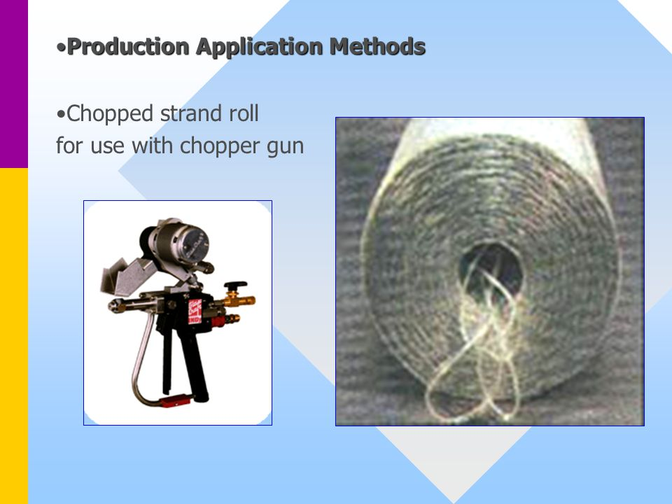 Production Application Methods