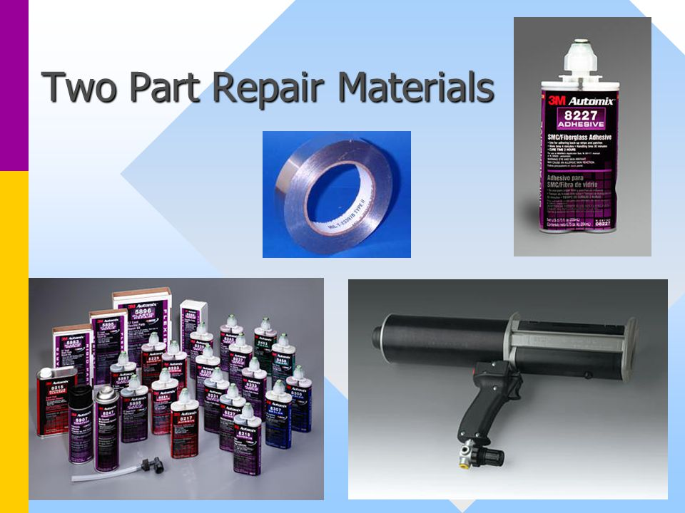 Two Part Repair Materials