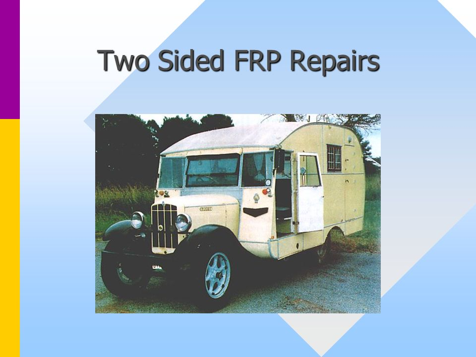 Two Sided FRP Repairs