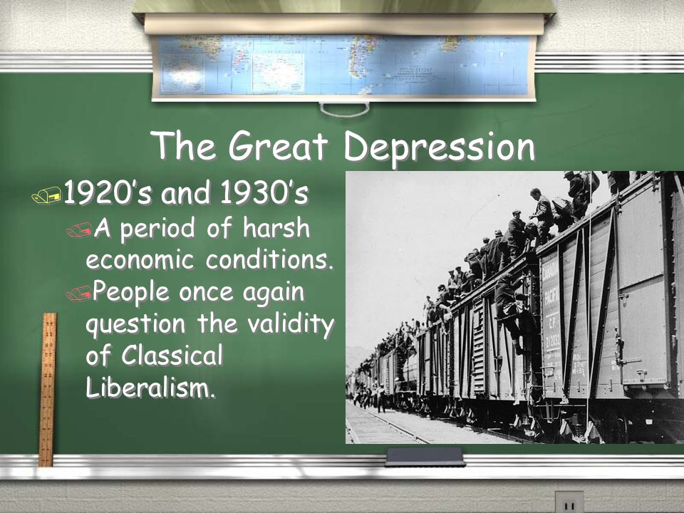 The Great Depression 1920's and 1930's