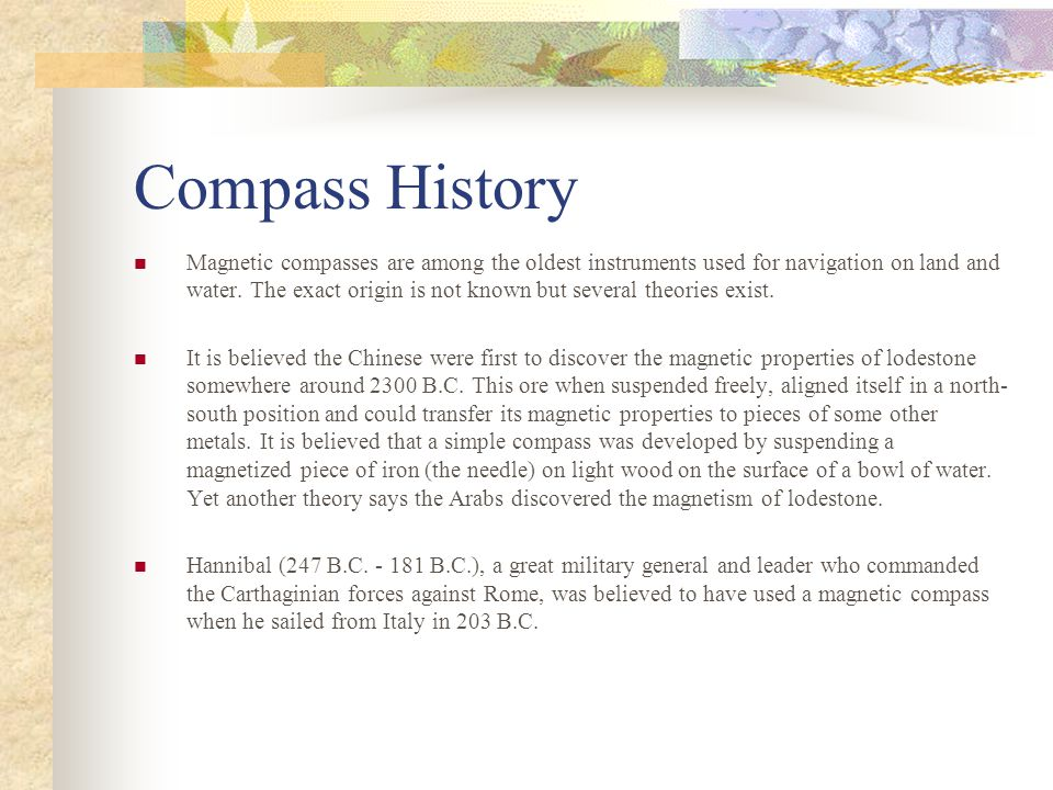 Compass History