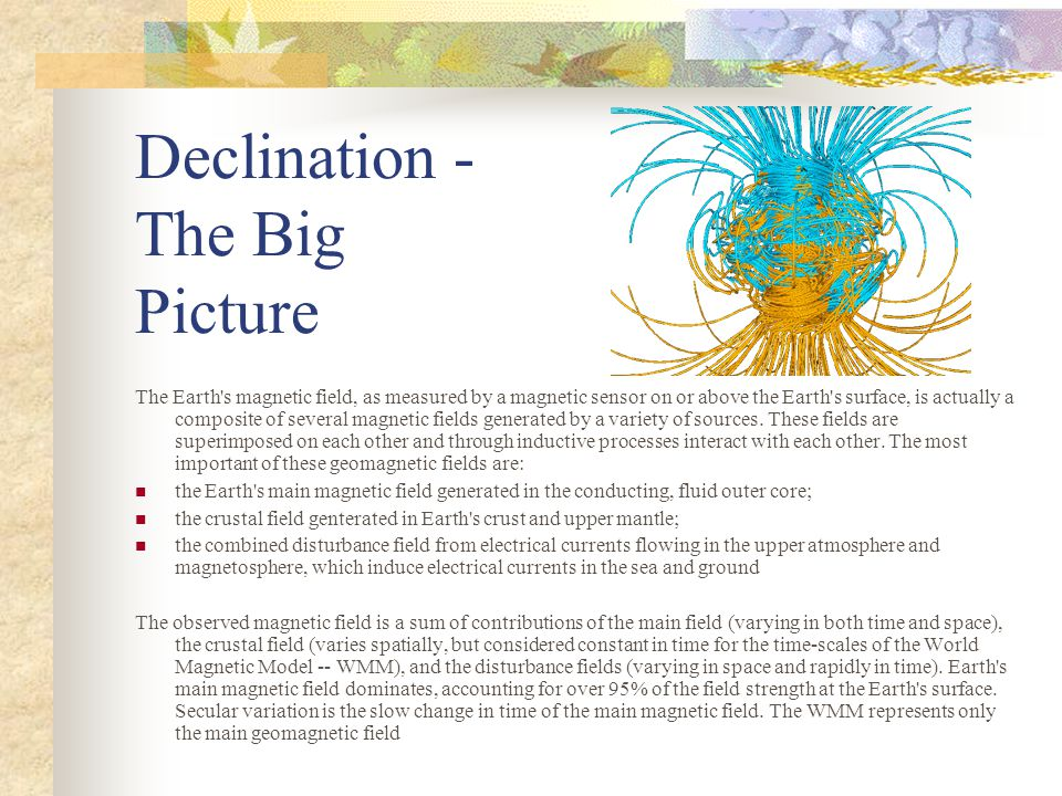Declination - The Big Picture