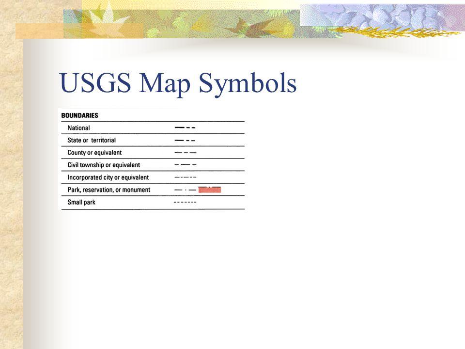 USGS Map Symbols