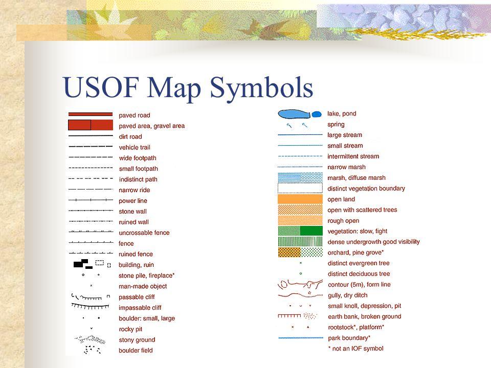 USOF Map Symbols