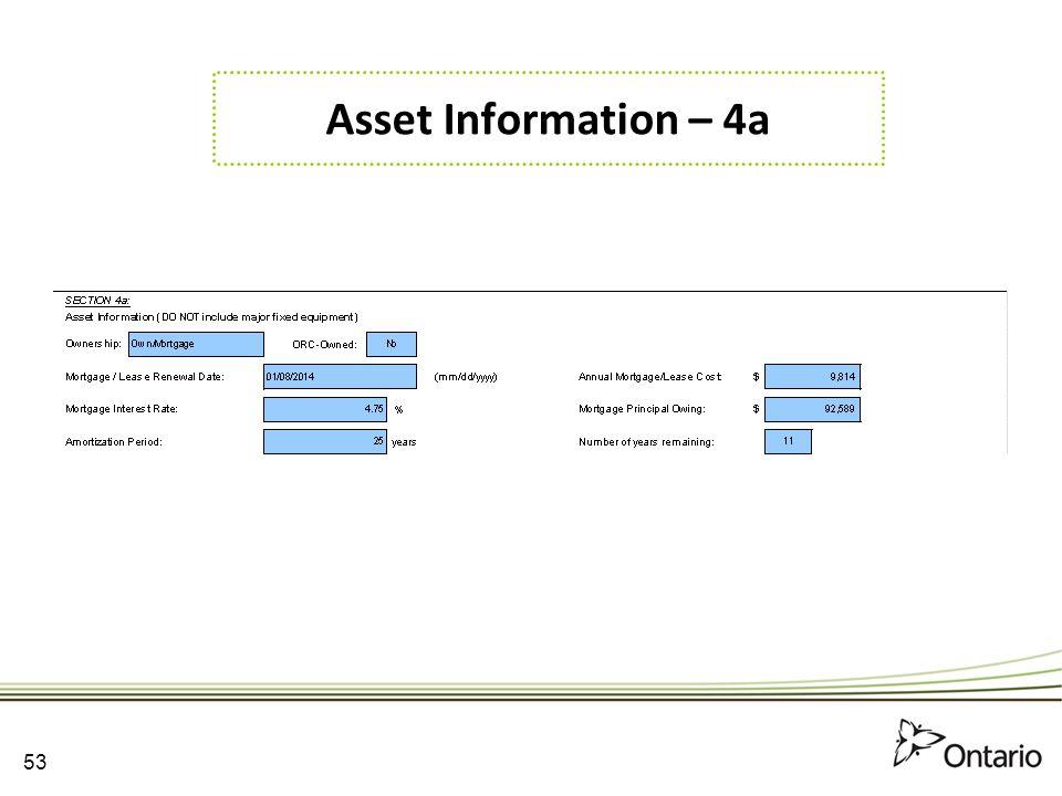 Asset Information – 4a 53 53