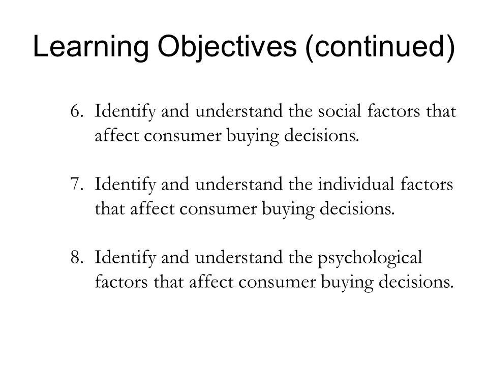 factors affecting consumer purchase decision in Personal factors play an important role in affecting consumer buying behaviour occupation the occupation of an individual plays a significant role in influencing his/her buying decision .