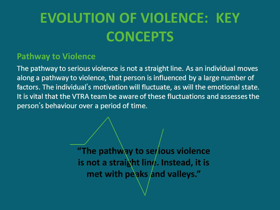 EVOLUTION OF VIOLENCE: KEY CONCEPTS