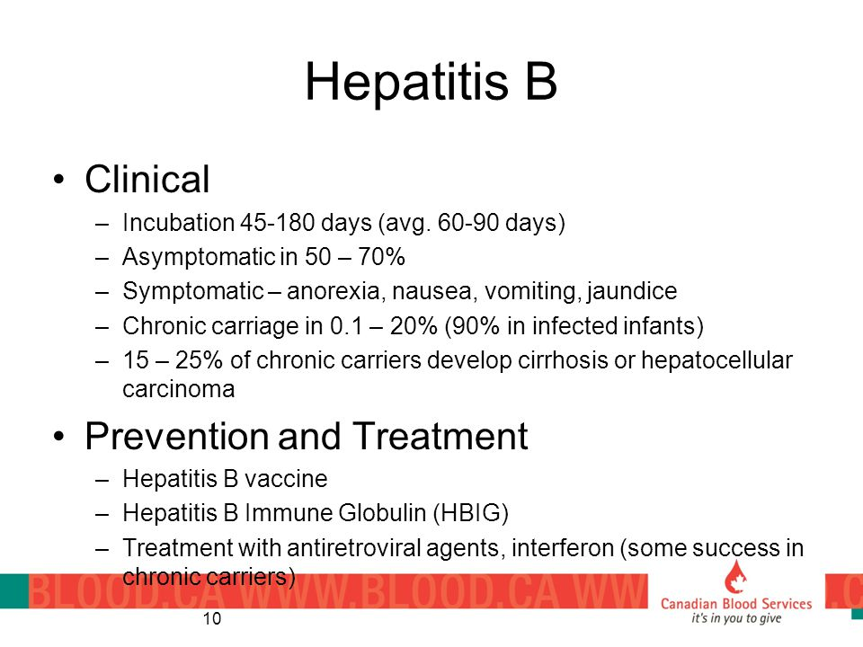 Hepatitis B Clinical Prevention and Treatment