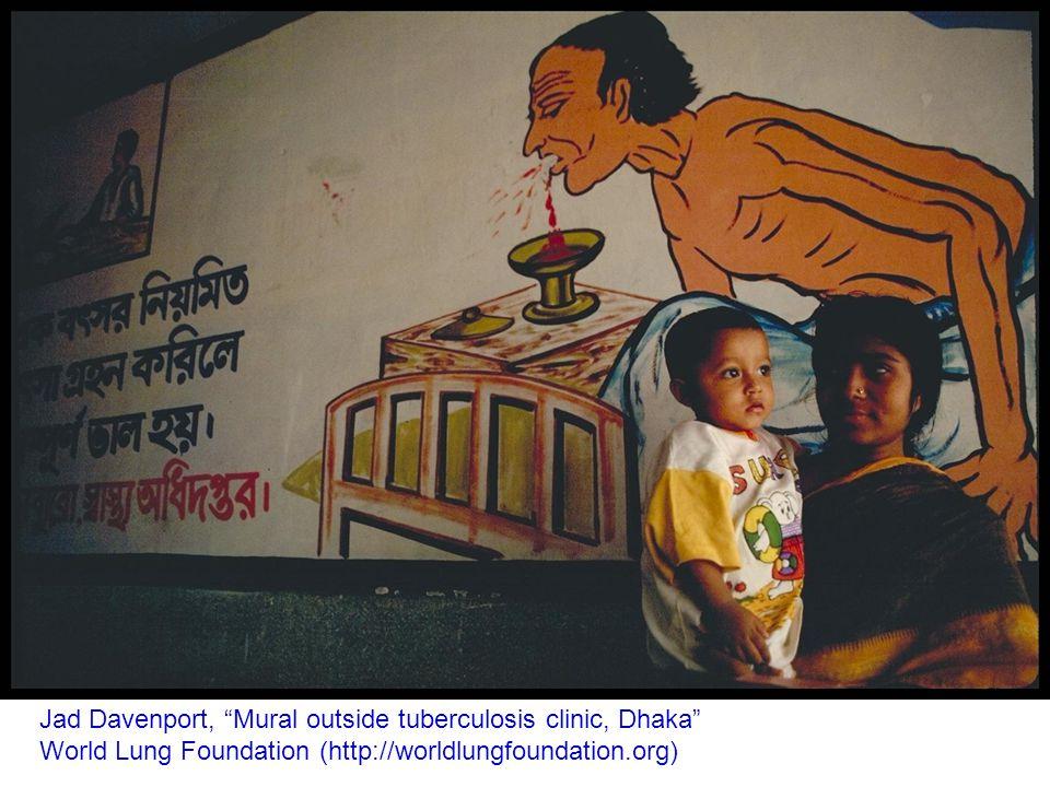 Jad Davenport, Mural outside tuberculosis clinic, Dhaka