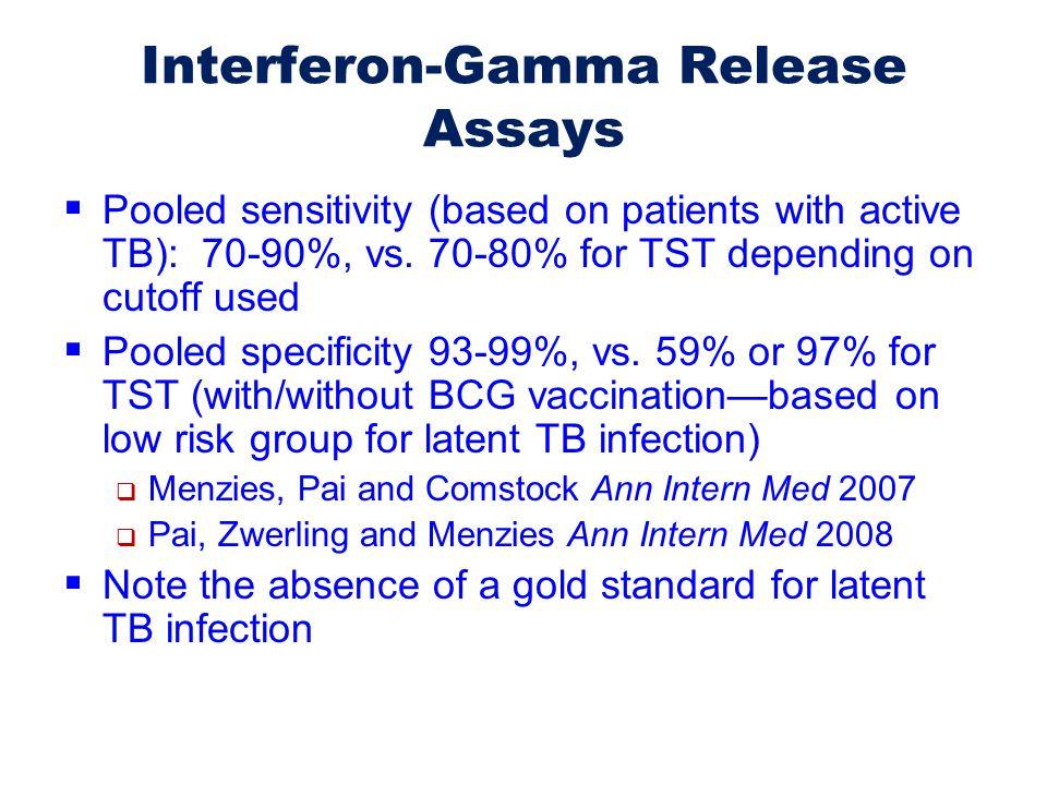Interferon-Gamma Release Assays